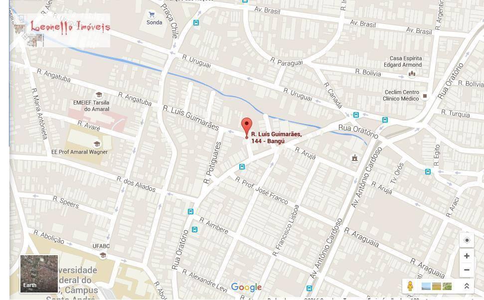 Terreno para alugar, 400 m² - Bangu - Santo André/SP
