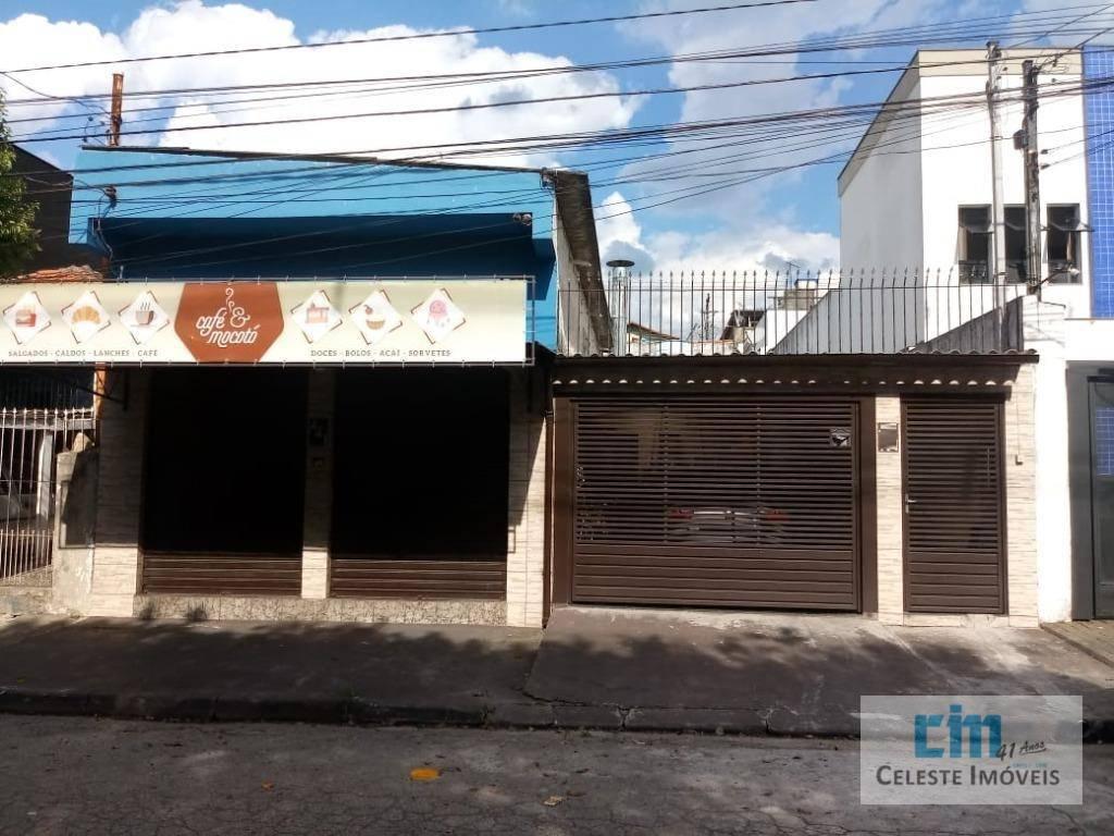 Imóvel com duas casas e salão comercial em terreno de 300m² por R$ 580.000 no ABC /  Jardim Sônia Maria - Mauá/SP