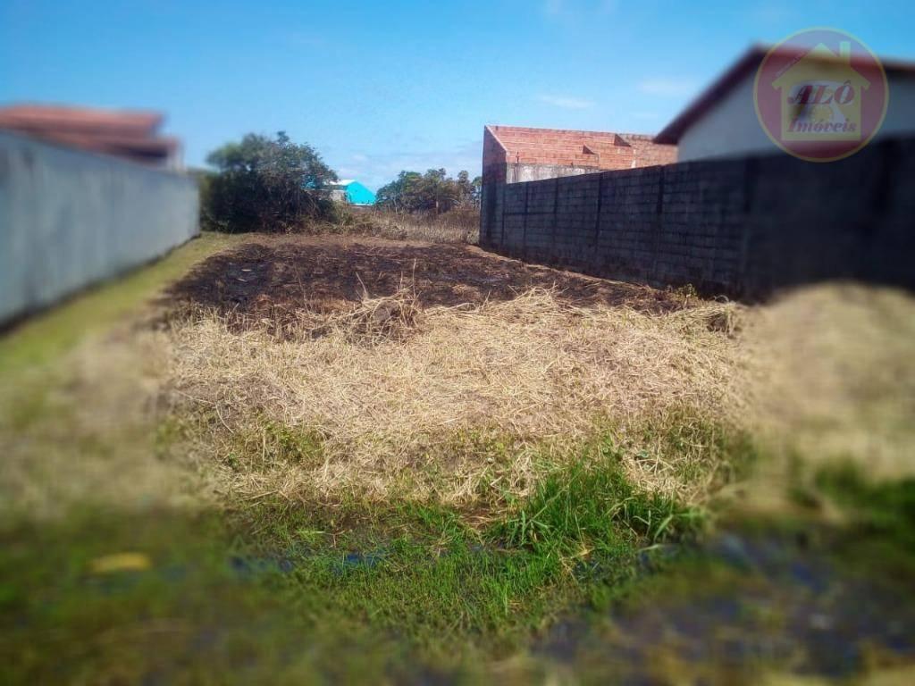 Terreno à venda, 269 m² por R$ 35.000,00 - Balneário Bermudas - Ilha Comprida/SP