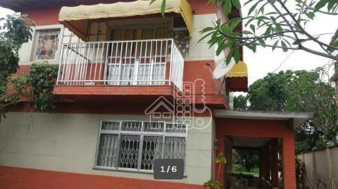 Casa com 4 dormitórios à venda, 450 m² por R$ 650.000,00 - Espraiado (Ponta Negra) - Maricá/RJ