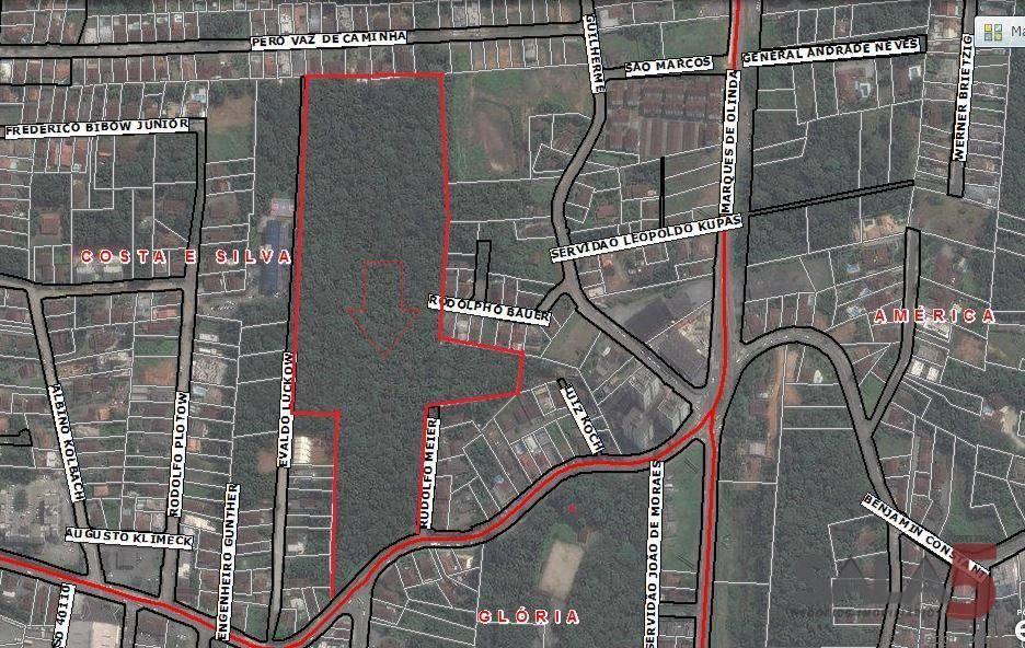 Terreno/Lote à venda  no Costa e Silva - Joinville, SC. Imóveis
