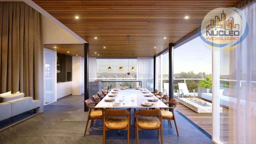 Apartamento com 3 Dormitórios à venda, 203 m² por R$ 1.529.261,98