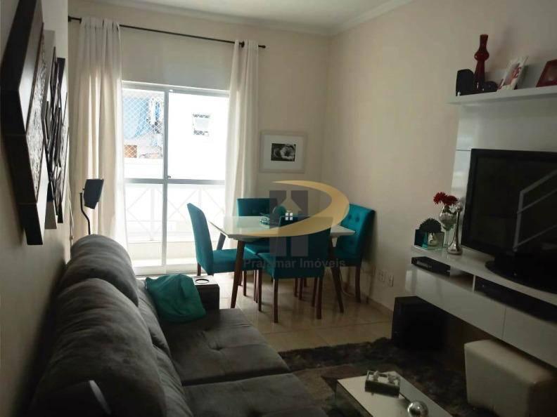 Sobrado com 2 dormitórios à venda, 126 m² por R$ 425.000,00 - Estuário - Santos/SP