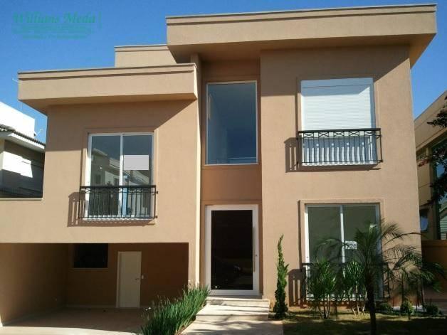Sobrado residencial à venda, 4 dormitórios, 8 vagas. Alphaville, Santana de Parnaíba.