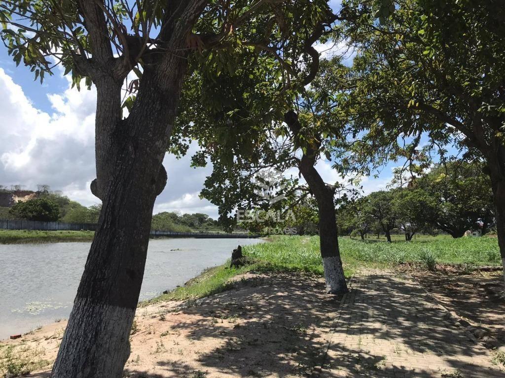 Lote à venda, 278 m², Vila do Porto, condomínio fechado, financia - Lagoa do Banana - Caucaia/CE