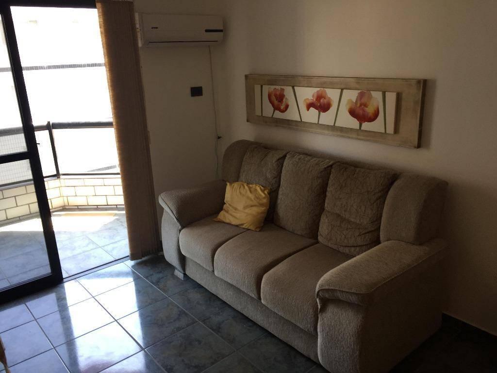 Apartamento residencial à venda, 109m², com ar condicionado. Vila Tupi, Praia Grande.