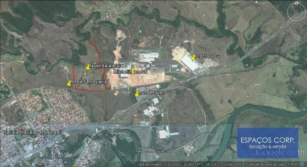 Terreno comercial  à venda, 399000m² - Balneário - Itatiaia/RJ