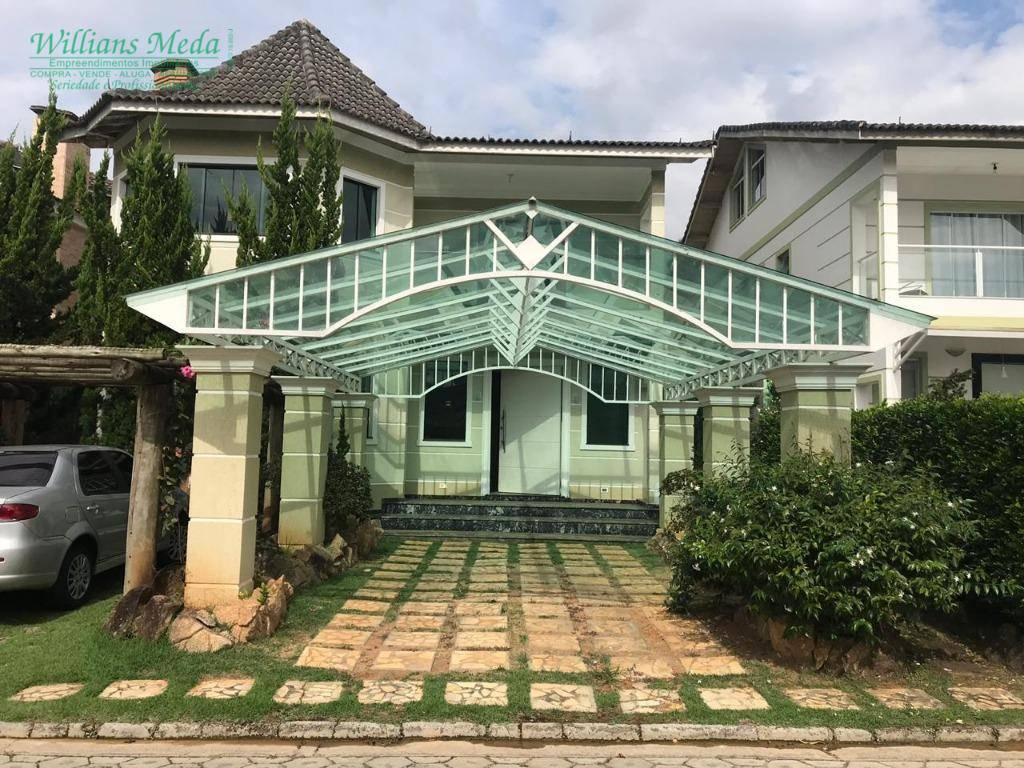 Sobrado com 3 dormitórios à venda, 390 m² por R$ 1.300.000,00 - Condomínio Villagio Floresta - Atibaia/SP