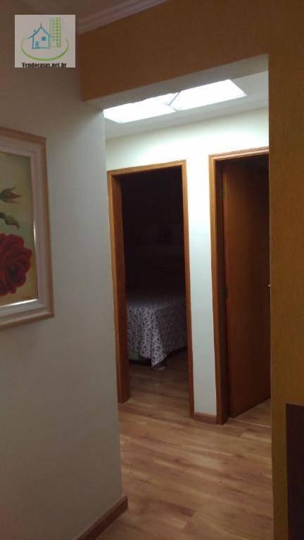 Apartamento residencial à venda, Vila Apiaí, Santo André.