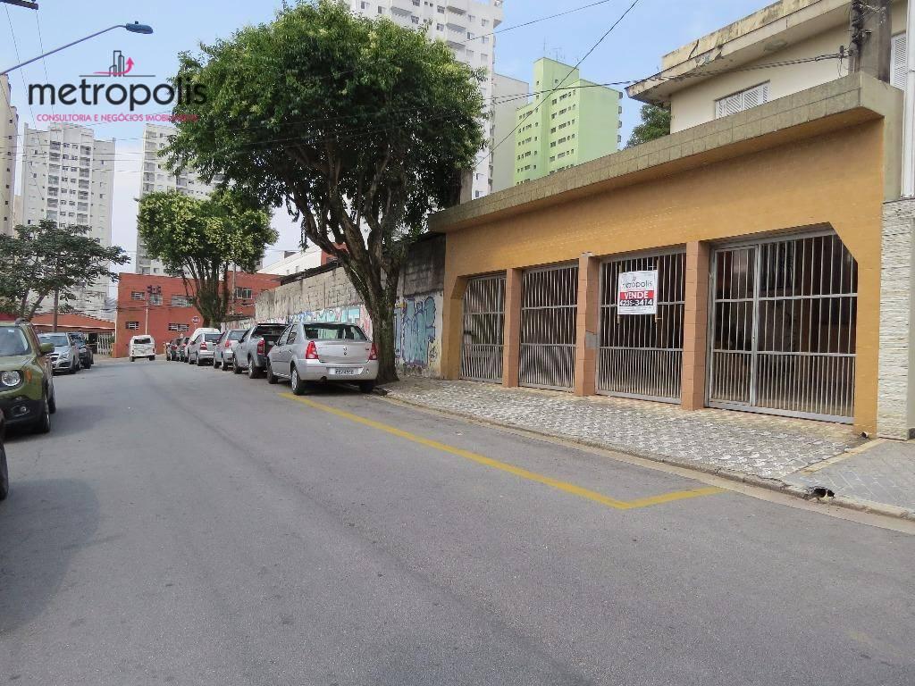 Área à venda, 438 m² por R$ 1.400.000,00 - Santo Antônio - São Caetano do Sul/SP