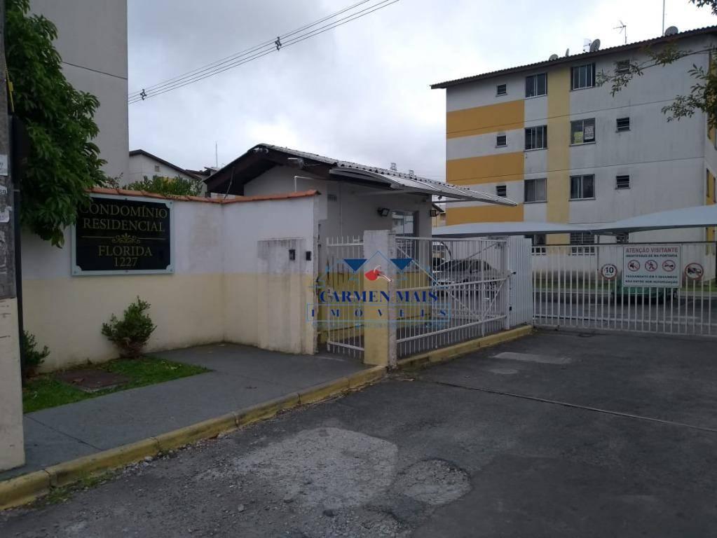 Apartamento com 2 dormitórios à venda por R$ 130.000,00 - Afonso Pena - São José dos Pinhais/PR