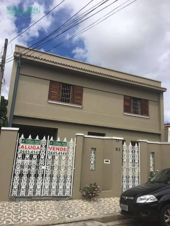 Sobrado residencial para venda e locação, Vila Pedro Moreira