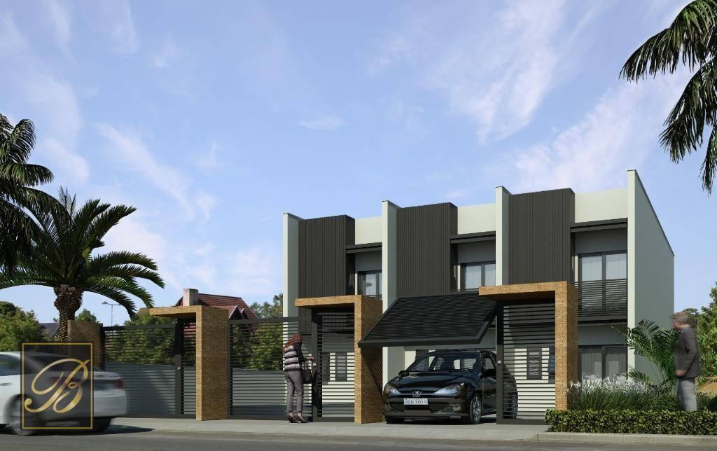 Sobrado residencial à venda, Costa e Silva, Joinville - SO0953.