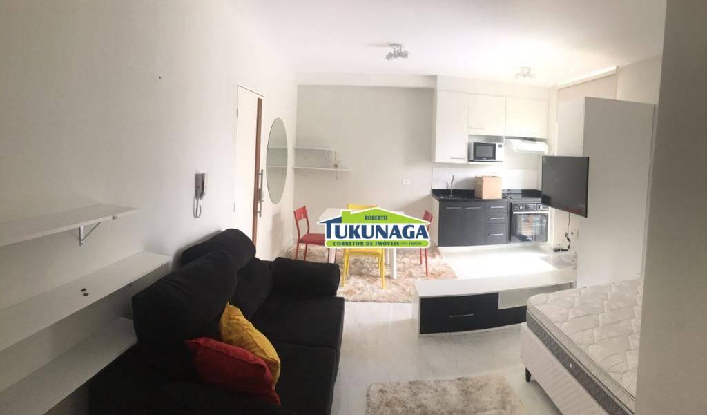 Studio com 1 dormitório para alugar, 36 m² por R$ 1.650,00/mês - Vila Augusta - Guarulhos/SP