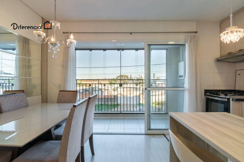 Apartamento com 3 dormitórios, 74 m² - venda por R$ 475.000,00 ou aluguel por R$ 2.500,00/mês - Santo Inácio - Curitiba/PR