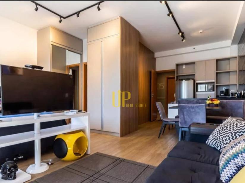 Apartamento com 1 dormitório para alugar, 45 m² por R$ 2.338/mês - Tamboré - Santana de Parnaíba/SP
