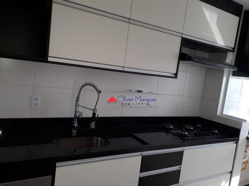 Apartamento à venda, 57 m² por R$ 310.000,00 - Carapicuíba - Carapicuíba/SP