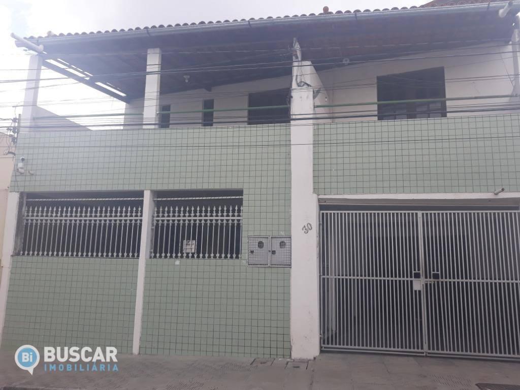 Casa com 2 dormitórios para alugar, 71 m² por R$ 700/ano - Queimadinha - Feira de Santana/BA