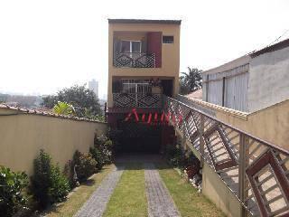 Sobrado Residencial à venda, Vila Curuçá, Santo André - SO0183.