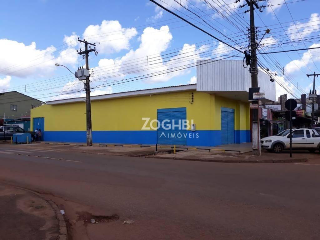 Prédio para alugar, 180 m² por R$ 7.000/mês - Nova Floresta - Porto Velho/Rondônia