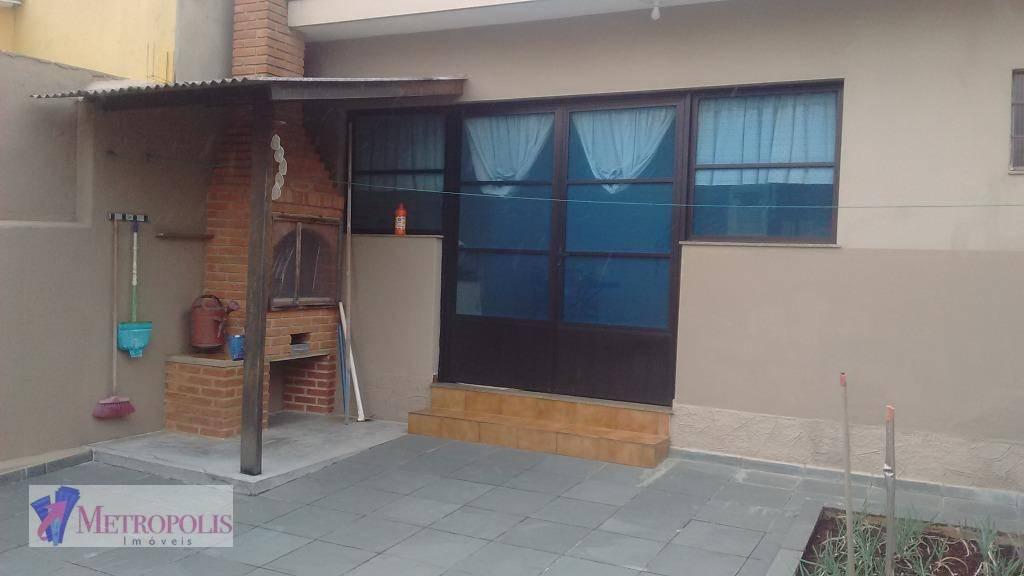 Casa residencial à venda, Osvaldo Cruz, São Caetano do Sul.