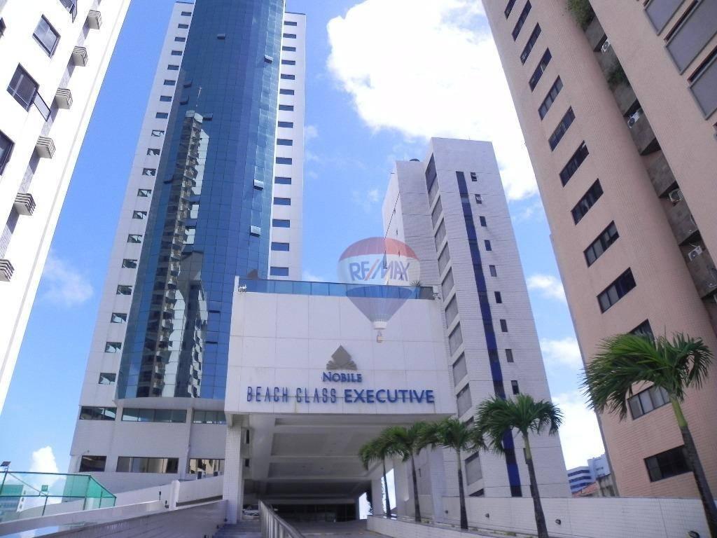 Flat residencial à venda, Boa Viagem, Recife - FL0040.