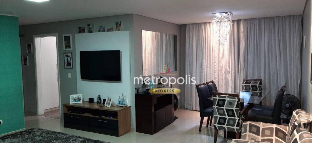 Apartamento com 3 dormitórios para alugar, 105 m² por R$ 3.000,00/mês - Vila Bocaina - Mauá/SP