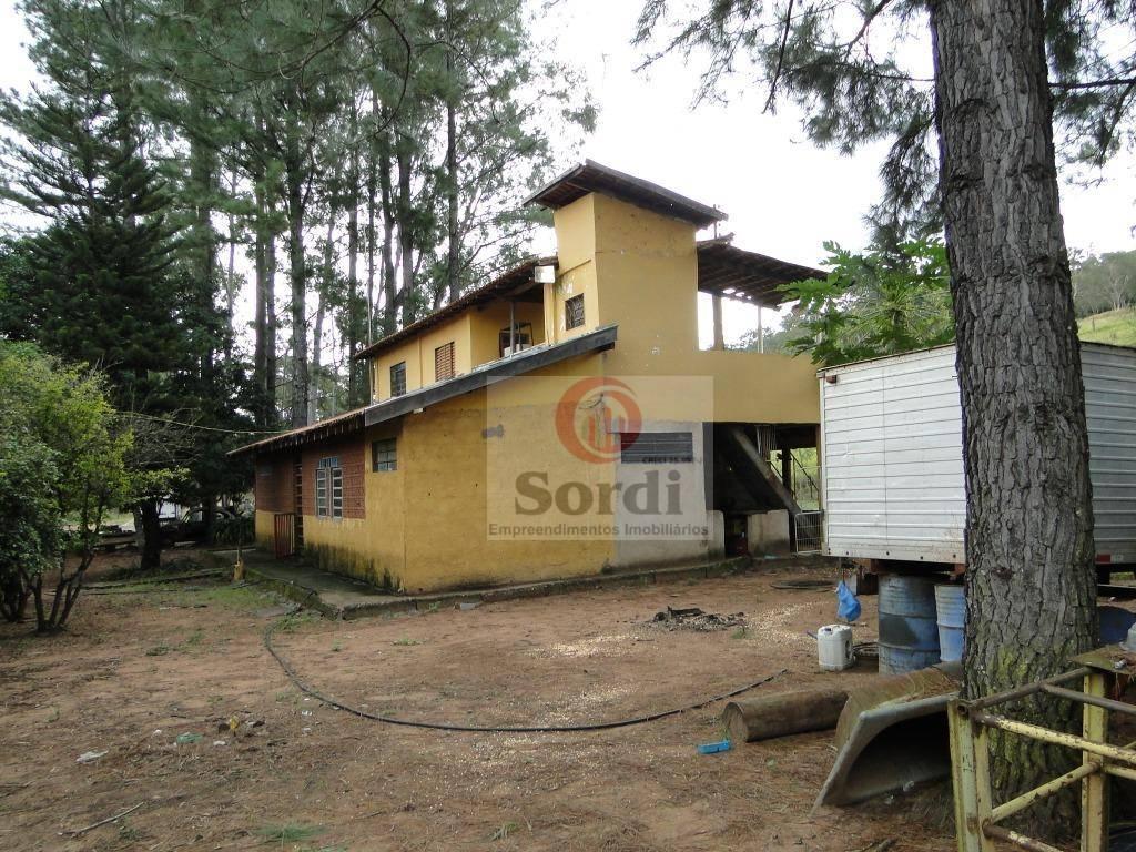 Sítio à venda, 193600 m² por R$ 800.000 - Zona Rural - Serrana/SP
