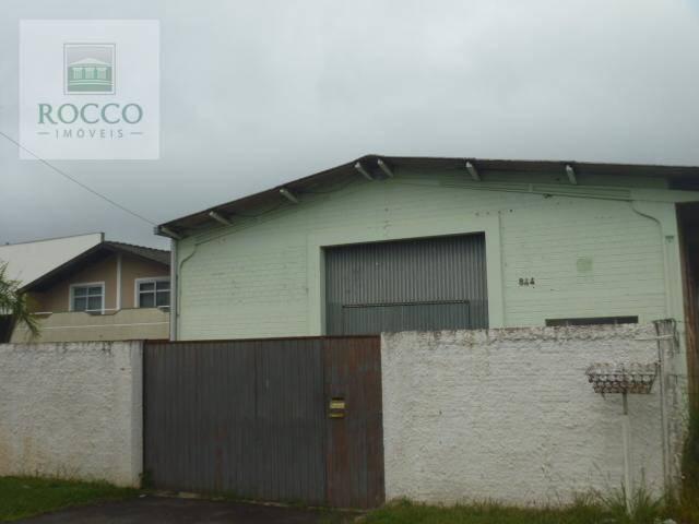 Barracão comercial para locação, Cruzeiro, São José dos Pinh