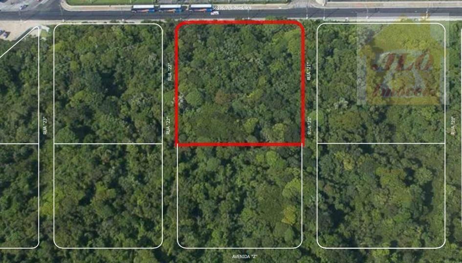 Terreno à venda, 4415 m² por R$ 10.700.000 - Vila Mirim - Praia Grande/SP