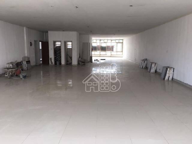 Andar Corporativo, 601 m² - venda por R$ 2.000.000,00 ou aluguel por R$ 8.700,00/mês - Centro - Niterói/RJ