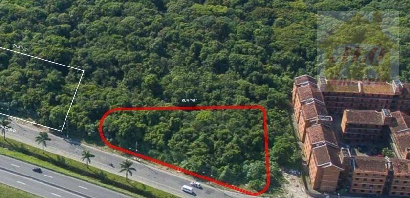 Terreno à venda, 1521 m² por R$ 3.600.000 - Nova Mirim - Praia Grande/SP