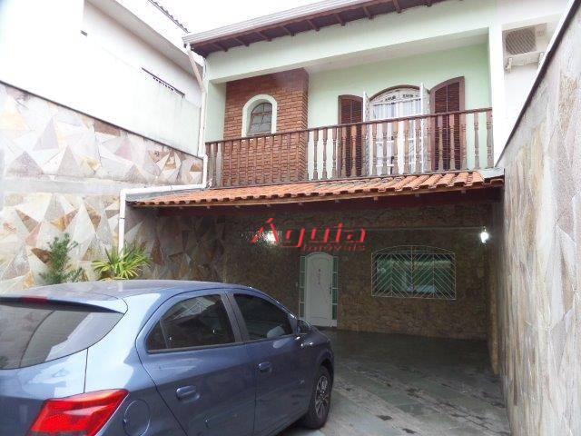 Sobrado com 4 dormitórios à venda, 312 m² por R$ 740.000,00 - Vila Metalúrgica - Santo André/SP