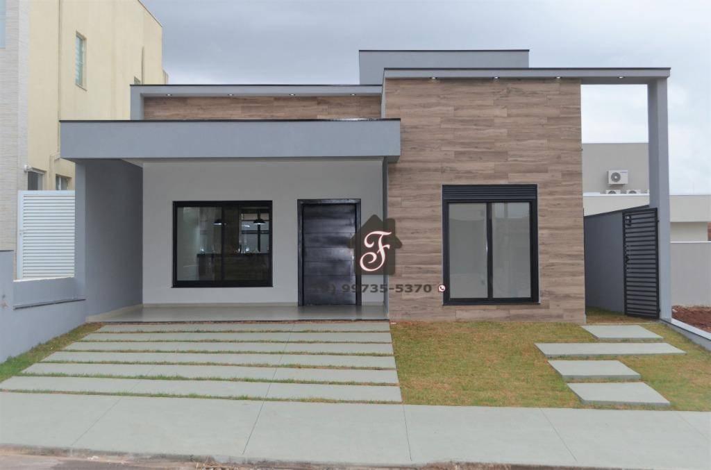 Casa com 3 dormitórios à venda, 144 m² por R$ 620.000 - Residencial Real Park Sumaré - Sumaré/SP