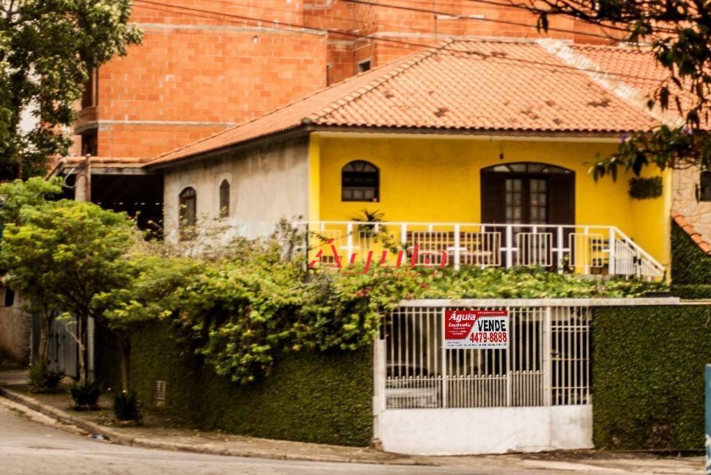 Sobrado com 3 dormitórios à venda, 207 m² por R$ 579.000 - Jardim Santo Alberto - Santo André/SP