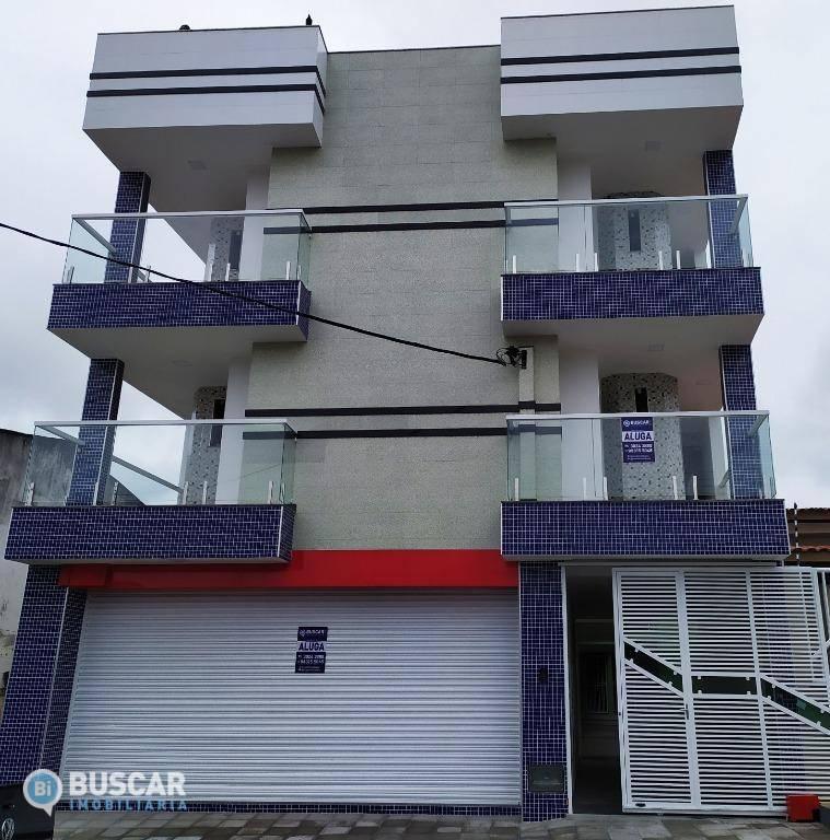 Apartamento com 2 dormitórios para alugar, 45 m² por R$ 700/mês - Jardim Acácia - Feira de Santana/BA