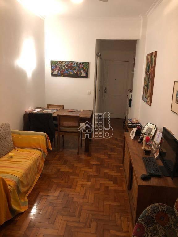 Apartamento com 3 dormitórios à venda, 98 m² por R$ 890.000,00 - Flamengo - Rio de Janeiro/RJ
