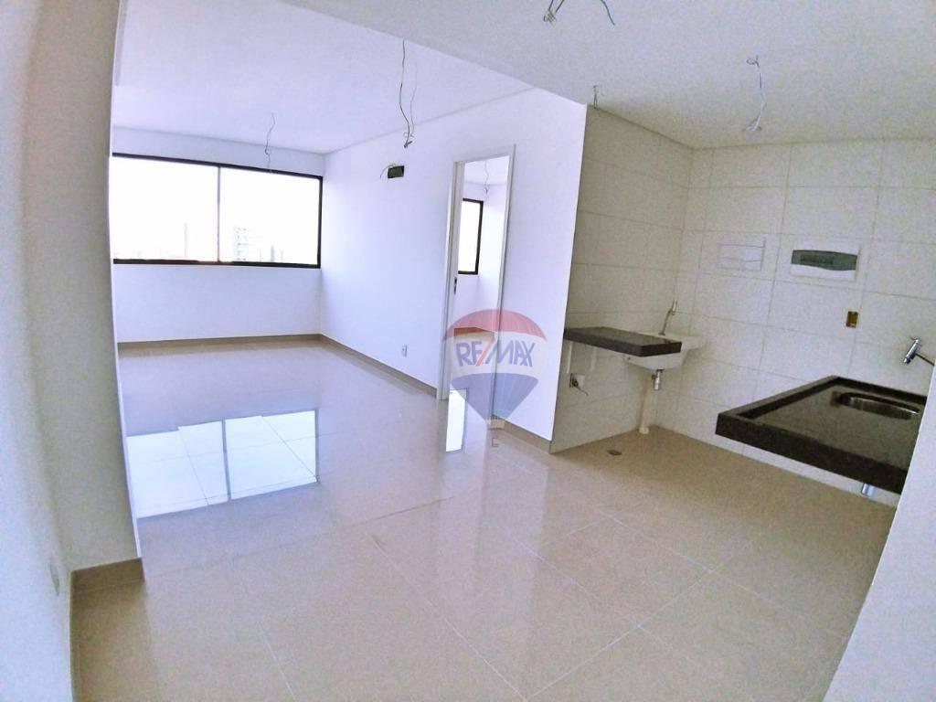 Flat em Boa Viagem, Beach Class Hotels e Residence, 40m².