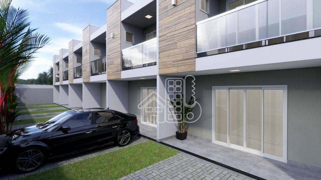 Casa com 2 dormitórios à venda, 80 m² por R$ 265.000,00 - Recanto de Itaipuaçu - Maricá/RJ