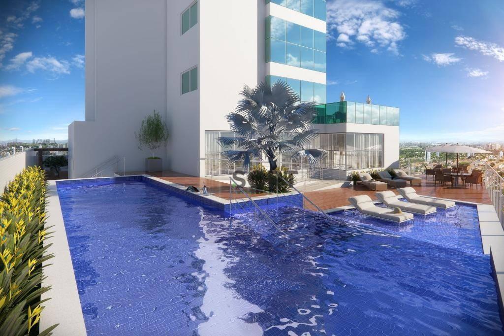 Oportunidade Quadra Mar diferenciado, 1 apartamento por andar, lançamento FG, 4 dormitórios sendo 2 suítes e 2 demi-suítes, 3 vagas privativa, Centro