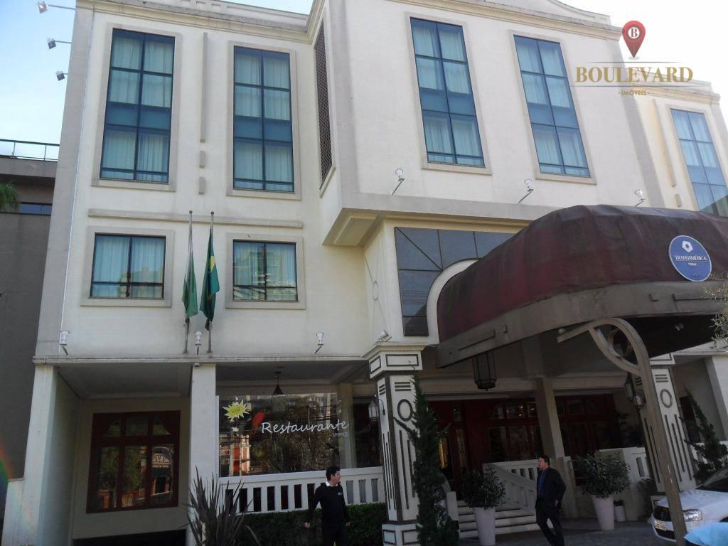 Flat Hotel Transamérica no Batel