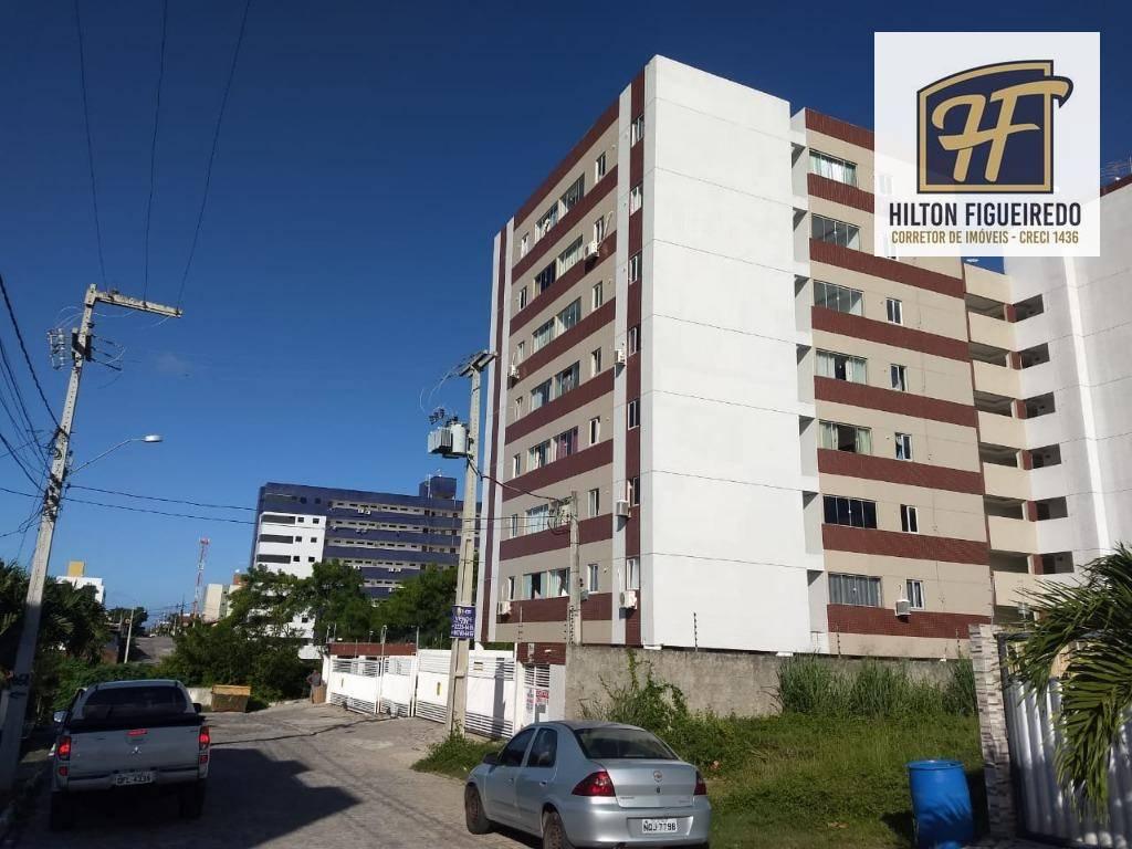 Apartamento com 2 dormitórios para alugar, 60 m² por R$ 1.100,00/mês - Jardim Cidade Universitária - João Pessoa/PB