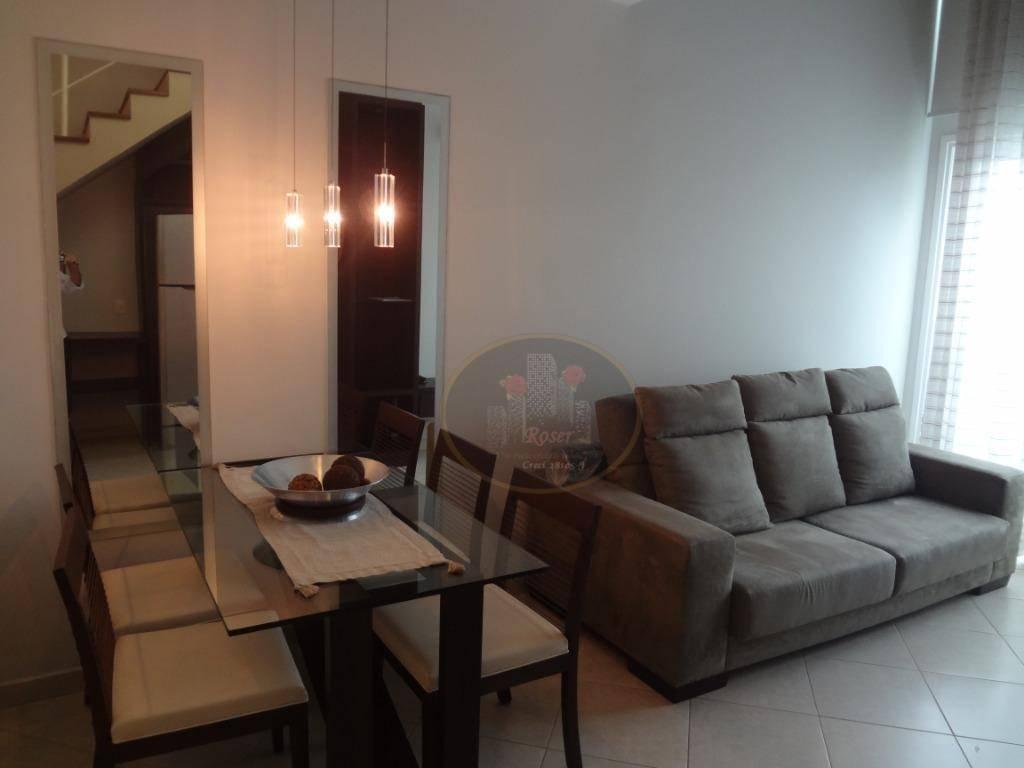 Loft para alugar, 68 m² por R$ 4.000,00/mês - Gonzaga - Santos/SP