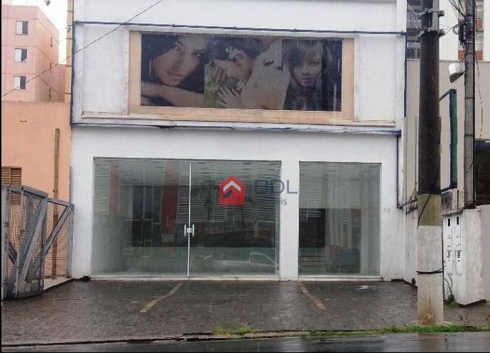 Salão comercial para locação, Botafogo, Campinas.