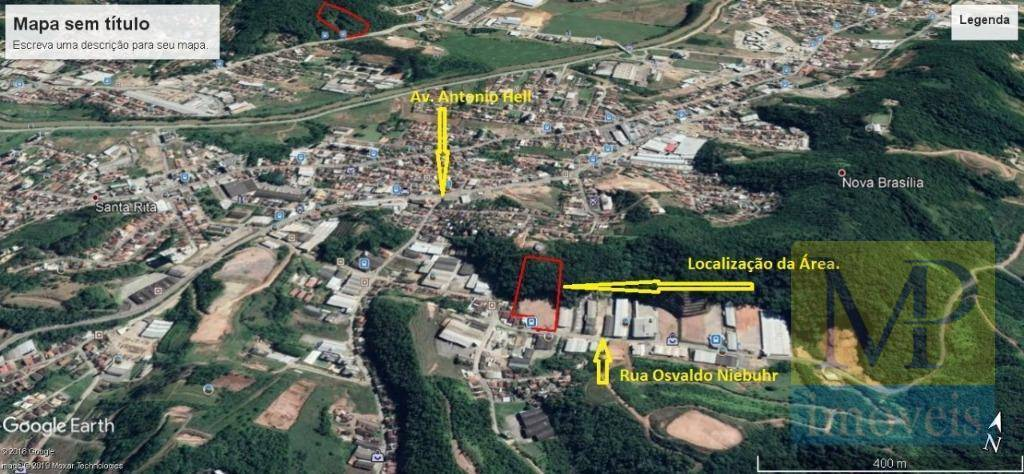 Terreno à venda, 18000 m² por R$ 4.500.000 - Santa Rita - Brusque/SC