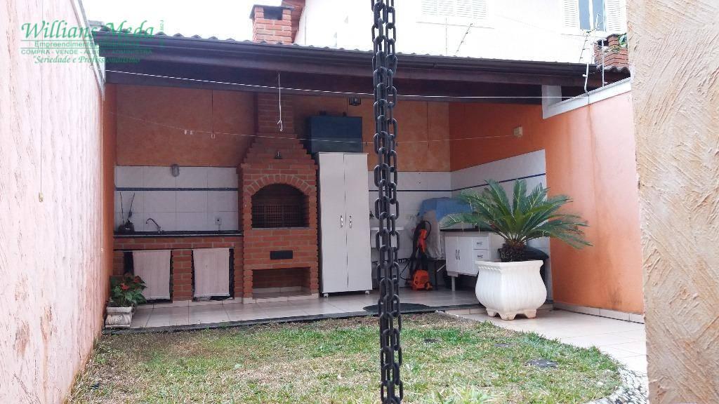 Sobrado com 3 dormitórios à venda, 163 m² por R$ 750.000 - Parque Renato Maia - Guarulhos/SP