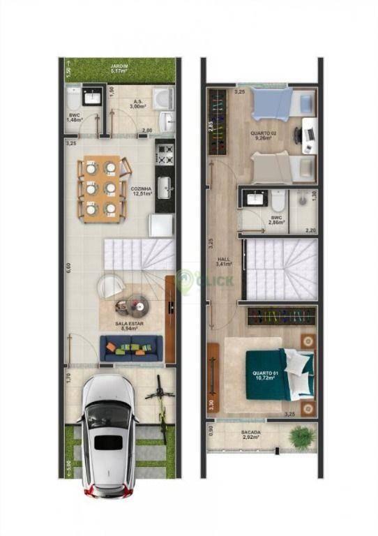Casa Joinville Vila Nova 2162562