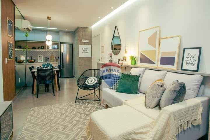 Apartamento com 2 dormitórios à venda, 58 m² por R$ 291.025,00 - Flodoaldo Pinto - Porto Velho/RO