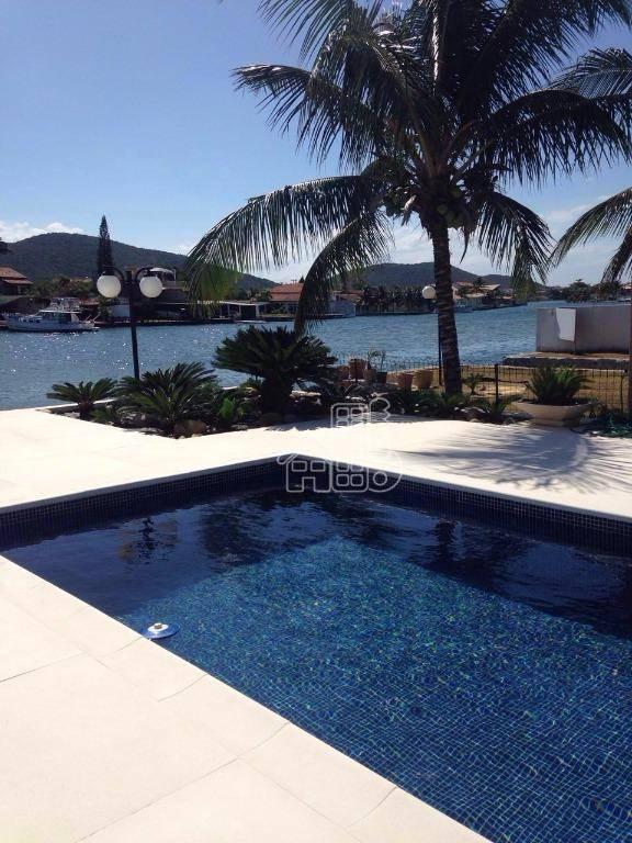Casa com 4 dormitórios à venda, 601 m² por R$ 3.500.000,00 - Ogiva - Cabo Frio/RJ
