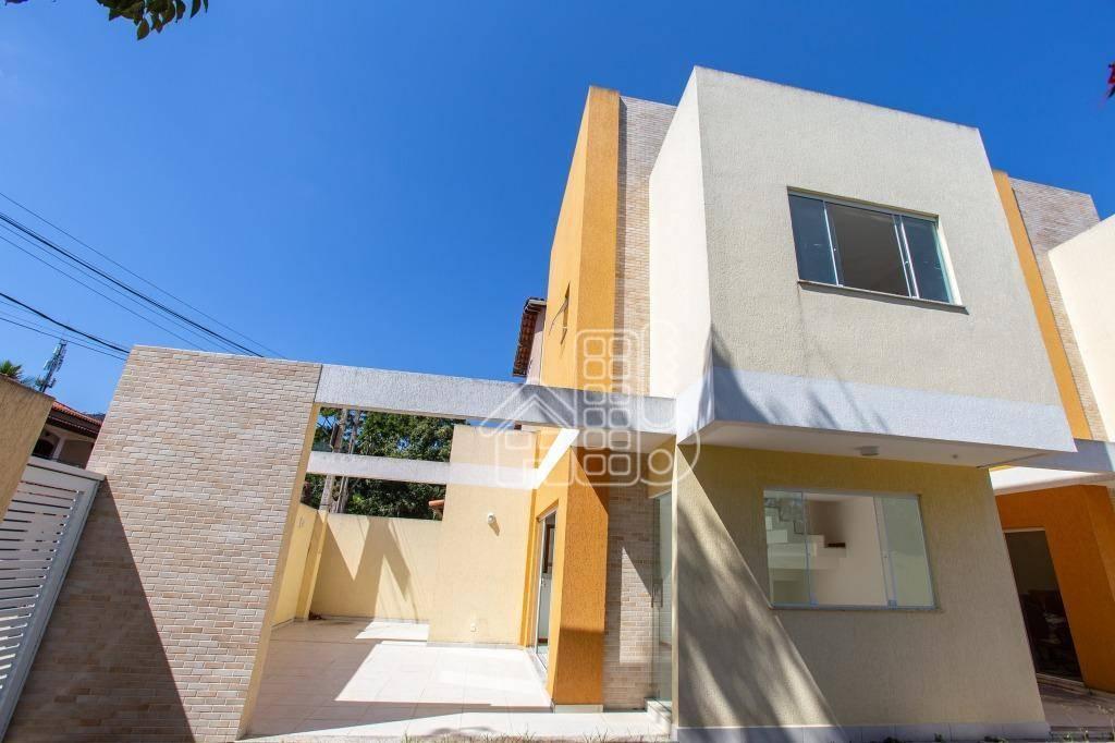 Casa com 3 dormitórios para alugar, 105 m² por R$ 1.800,00/mês - Engenho do Mato - Niterói/RJ